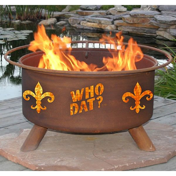 Who Dat Fire Pit image number 1