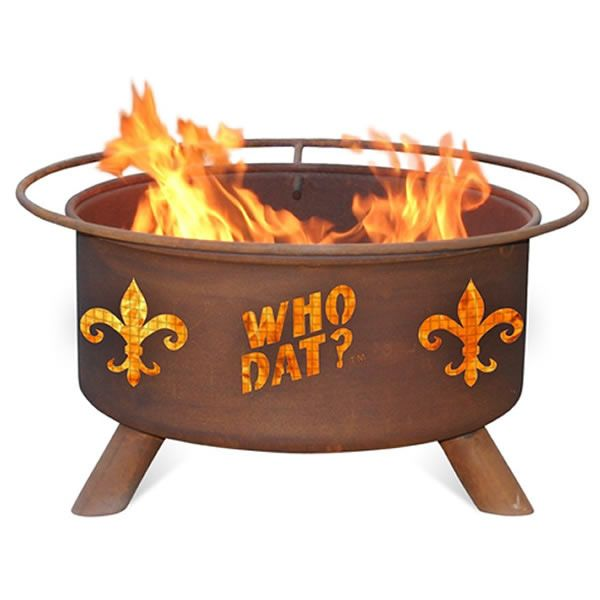 Who Dat Fire Pit image number 0