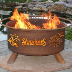 Wichita State Wood Burning Fire Pit