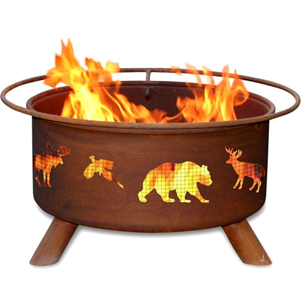 Wildlife Wood Burning Fire Pit image number 0