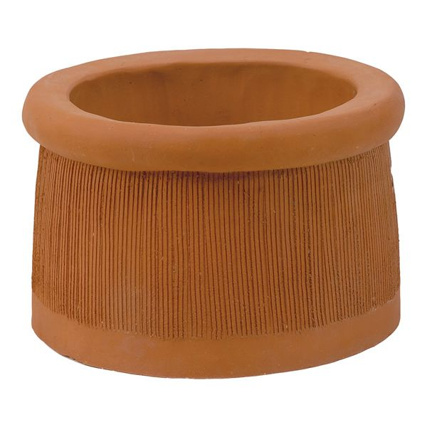 Sandkuhl Windsor Short Clay Chimney Pot image number 0