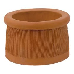 Sandkuhl Windsor Short Clay Chimney Pot