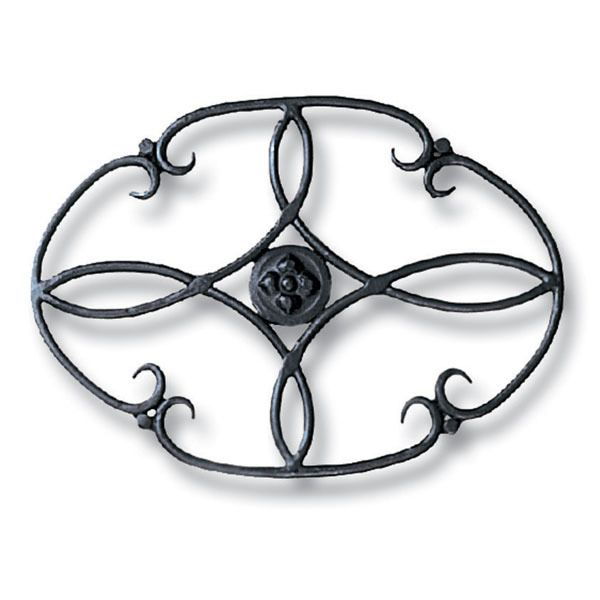 Wrought Iron Wood Stove Trivet image number 0