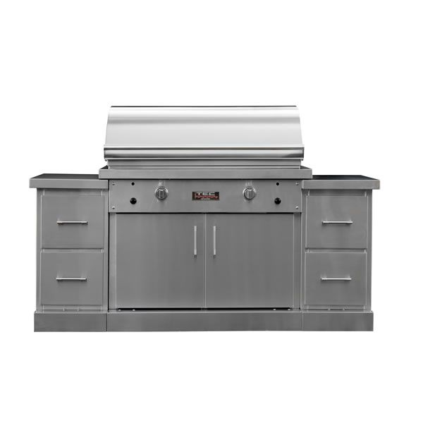 """TEC Sterling Patio FR Infrared Gas BBQ Island - 73"""" image number 0"""