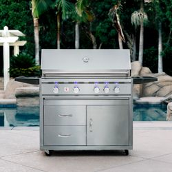 """Summerset TRL Built-In Gas Grill - 38"""""""