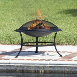 Tokia Round Wood Burning Fire Pit