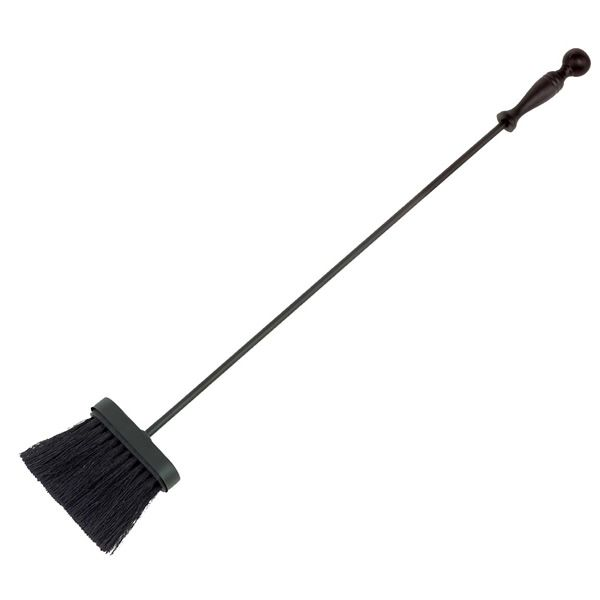 Tampico Wrought Iron Brush with Ball Handle - Black image number 0