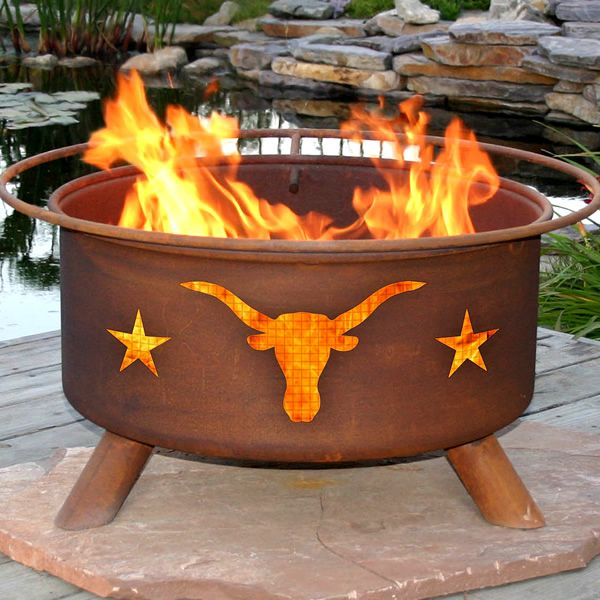 Texas Longhorn Fire Pit image number 0