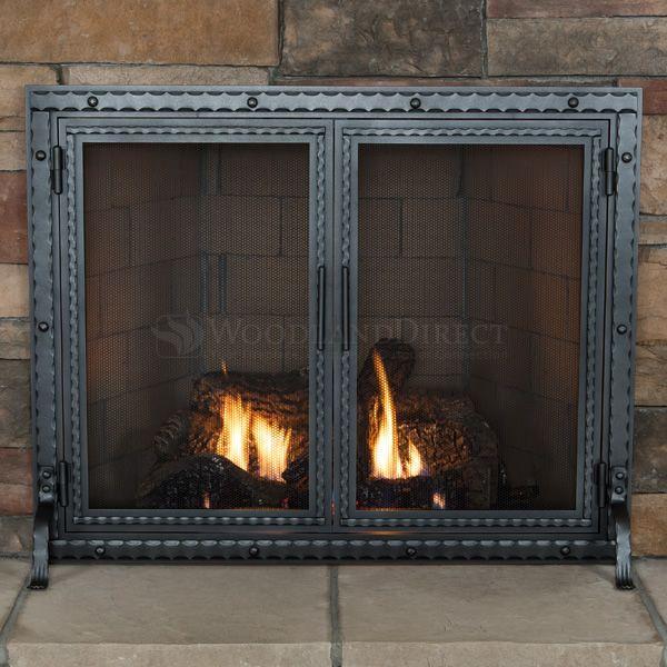 Templar Fireplace Screen with Doors image number 1