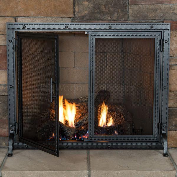 Templar Fireplace Screen with Doors image number 2