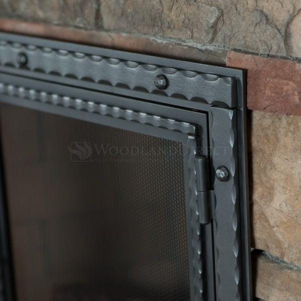 Templar Fireplace Screen with Doors image number 3