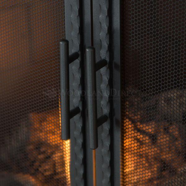Templar Fireplace Screen with Doors image number 4