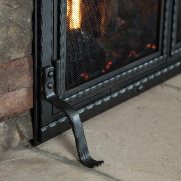 Templar Fireplace Screen with Doors image number 5