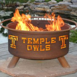 Temple Wood Burning Fire Pit
