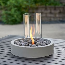 Cove Intrigue Table Top Propane Fire Pit