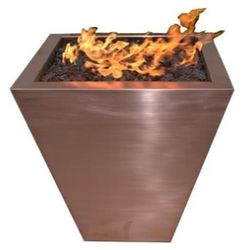 FPT2500 Taper Copper Fire Pit - NG