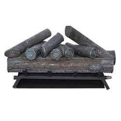 The Outdoor Plus Steel Outdoor Gas Log Set