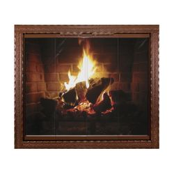 The Chateau Collection - Tuscan Masonry Fireplace Door