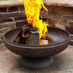 The Patriot Wood Burning Fire Bowl - Designer Edge