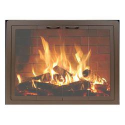 Thermo-Rite Contour Masonry Fireplace Glass Door
