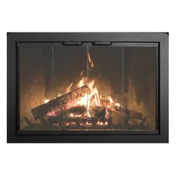 Thermo-Rite Beauregard Masonry Fireplace Glass Door