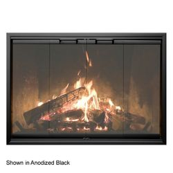 Thermo-Rite Econo-Z Zero Clearance Fireplace Glass Door