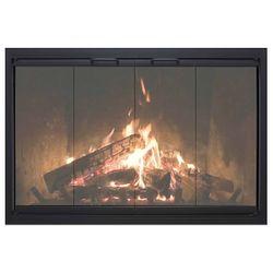 Thermo-Rite Highlander Masonry Fireplace Glass Door