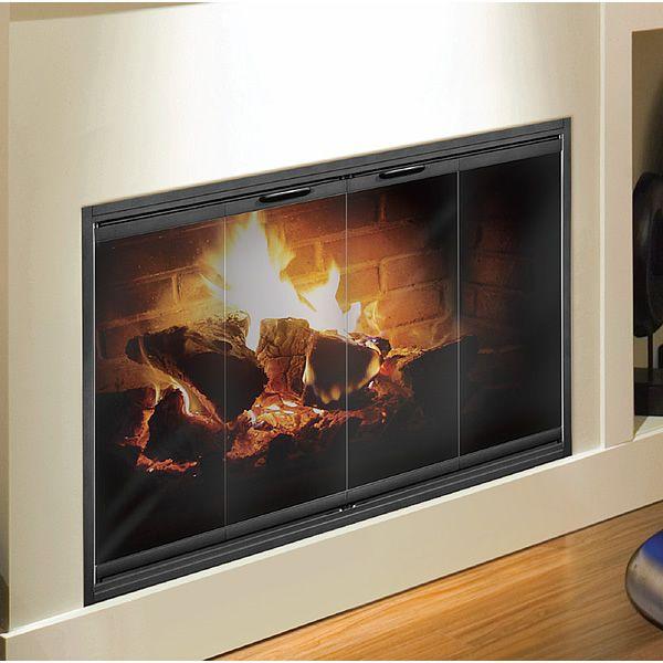 Thin-Line Masonry Fireplace Door image number 1