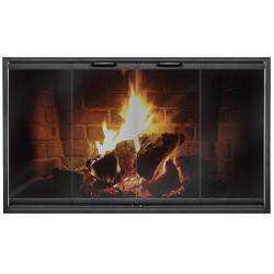 Thin-Line Masonry Fireplace Door