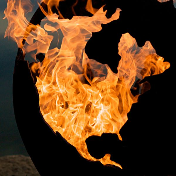 Third Rock Gas Fire Pit image number 5