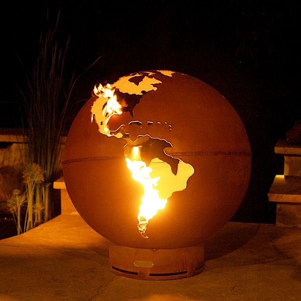 Third Rock Gas Fire Pit image number 0