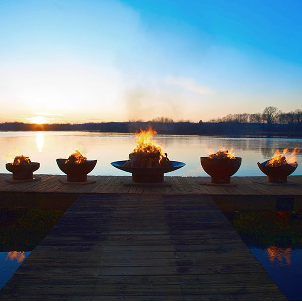 Tidal Gas Fire Pit image number 3