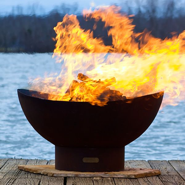Tidal Wood Burning Fire Pit image number 0