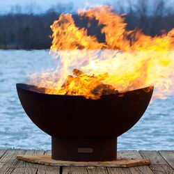 Scallop/Tidal Wood Burning Fire Pit