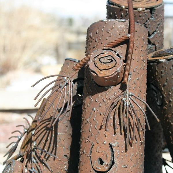TimberCraft Metal Art Pine Branches and Twigs - Medium image number 1