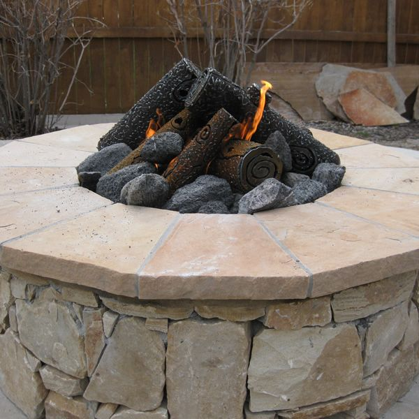 "TimberCraft Metal Art Premium Steel Fire Pit Gas Logs - 23"" image number 2"