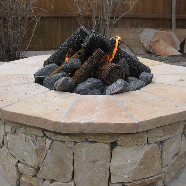 "TimberCraft Metal Art Premium Steel Fire Pit Gas Logs - 16"" image number 2"