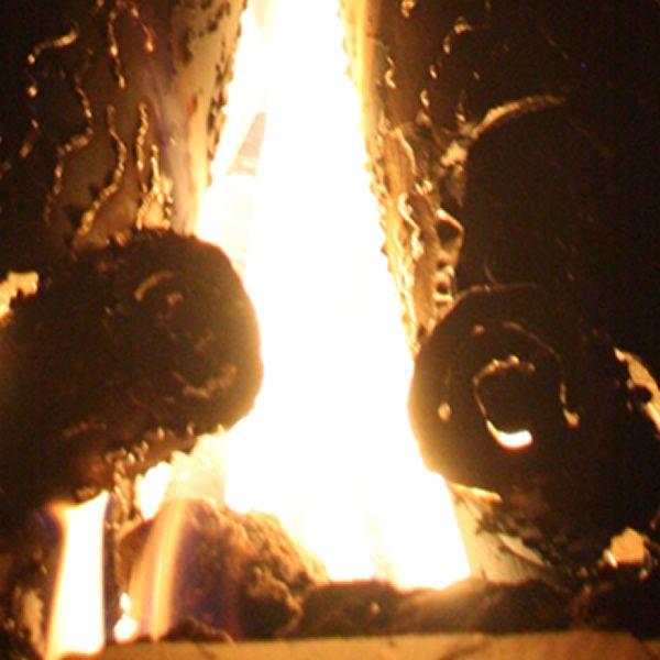 "TimberCraft Metal Art Premium Steel Fire Pit Gas Logs - 16"" image number 4"