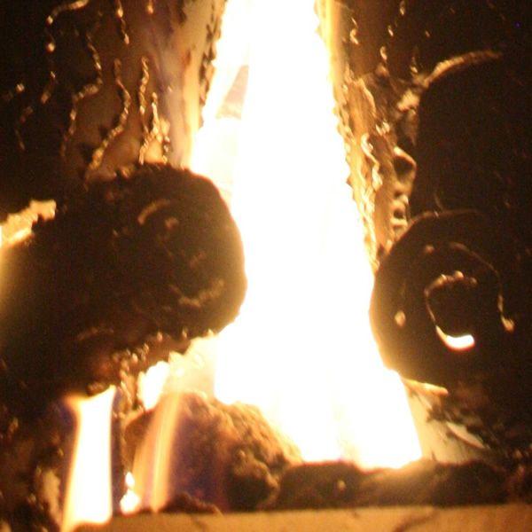 "TimberCraft Metal Art Premium Outdoor Steel Gas Logs - 28"" image number 3"
