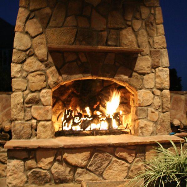 "TimberCraft Metal Art Premium Outdoor Steel Gas Logs - 21"" image number 1"