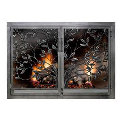 Tree of Life Fireplace Door