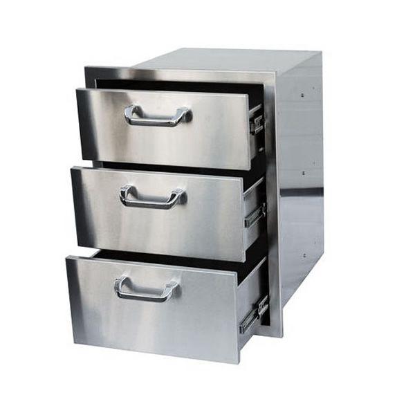 Triple Drawer Storage image number 0