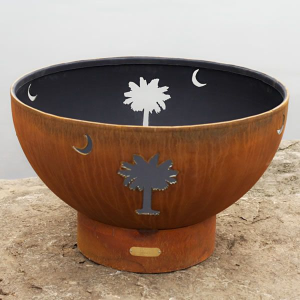 Tropical Moon Gas Fire Pit image number 3