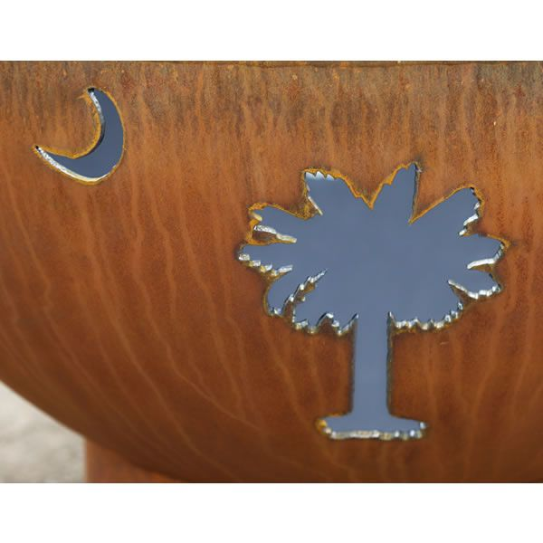 Tropical Moon Gas Fire Pit image number 5