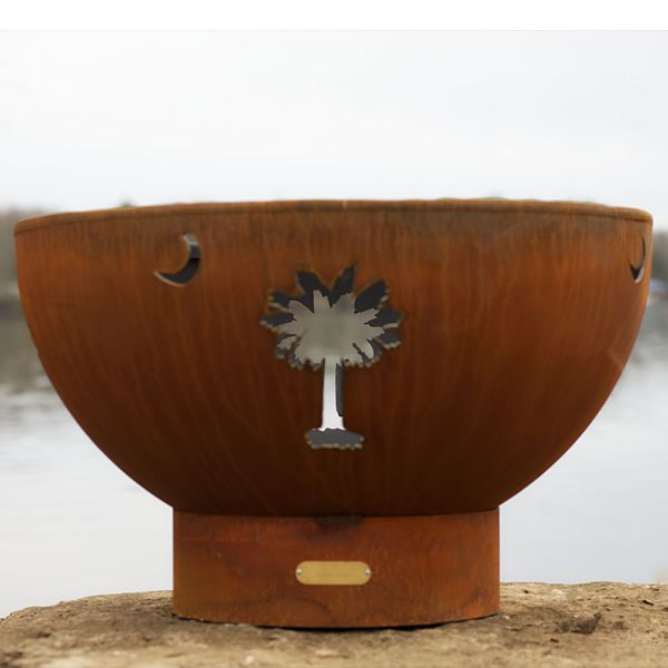 Tropical Moon Gas Fire Pit image number 6