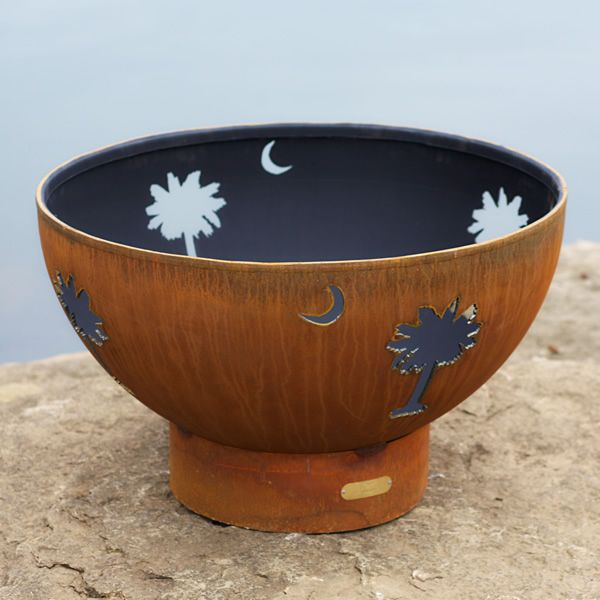 Tropical Moon Wood Burning Fire Pit image number 4