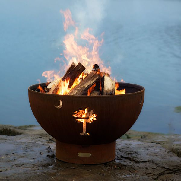 Tropical Moon Wood Burning Fire Pit image number 0