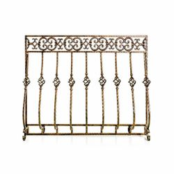 Tuscany Cast Iron Fireplace Screen
