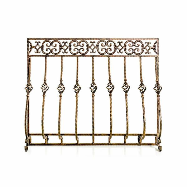 Tuscany Cast Iron Fireplace Screen image number 0
