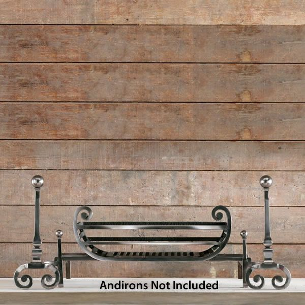 """Tyndale Fire Basket For Andirons - 18"""" image number 1"""